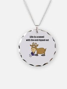 Unique Cartoon goat Necklace