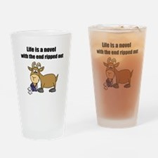 Unique Cartoon goat Drinking Glass