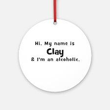Clay Ornament (Round)