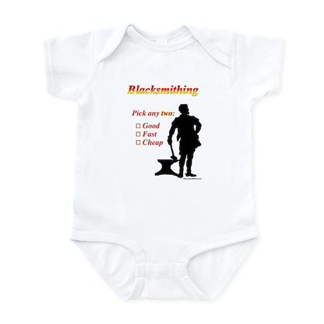 Pick two, good fast cheap Infant Bodysuit