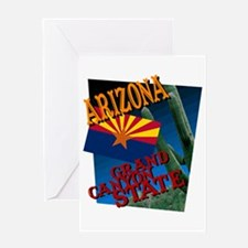 Unique Arizona desert Greeting Card