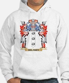 Delaney Coat of Arms - Family Cr Hoodie
