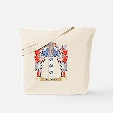 Delaney Coat of Arms - Family Crest Tote Bag