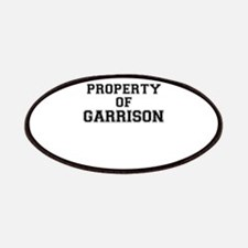 Property of GARRISON Patch