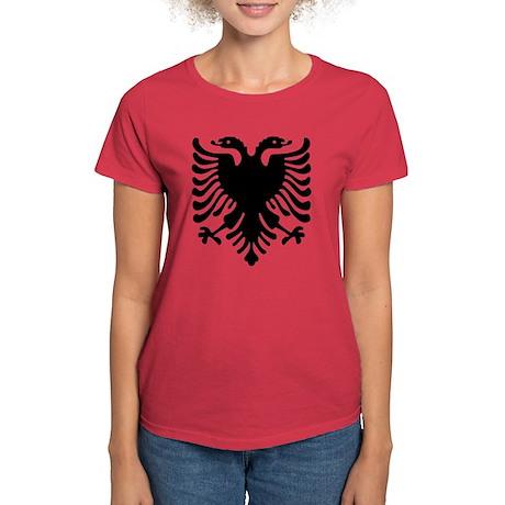 Albanian Crest Women's Dark T-Shirt