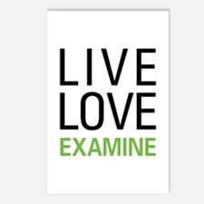 Live Love Examine Postcards (Package of 8)