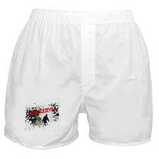 Cute Blobsquatch Boxer Shorts