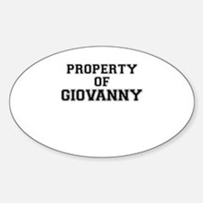 Property of GIOVANNY Decal