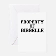 Property of GISSELLE Greeting Cards