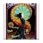 Psychic Fortune Teller Tile Coaster
