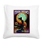 Psychic Fortune Teller Square Canvas Pillow