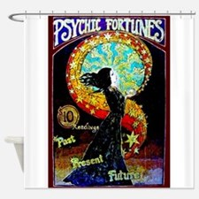 Psychic Fortune Teller Shower Curtain