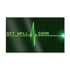 Get Well Soon ERG Wall Decal