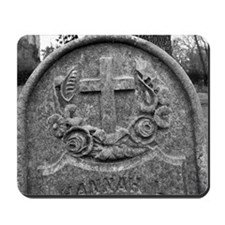 Old Headstone Mousepad