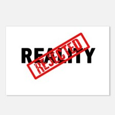 Reality REJECTED Postcards (Package of 8)