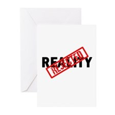Reality REJECTED Greeting Cards (Pk of 10)