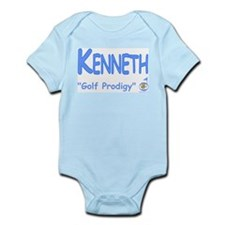 "Kenneth ""Golf Prodigy"" Infant Bodysuit"