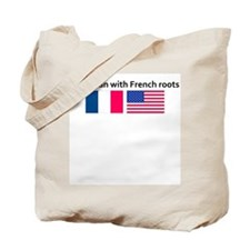 American with French roots Tote Bag