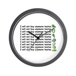 Buy more hostas Wall Clock