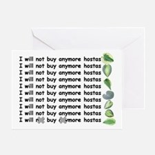 Buy more hostas Greeting Card