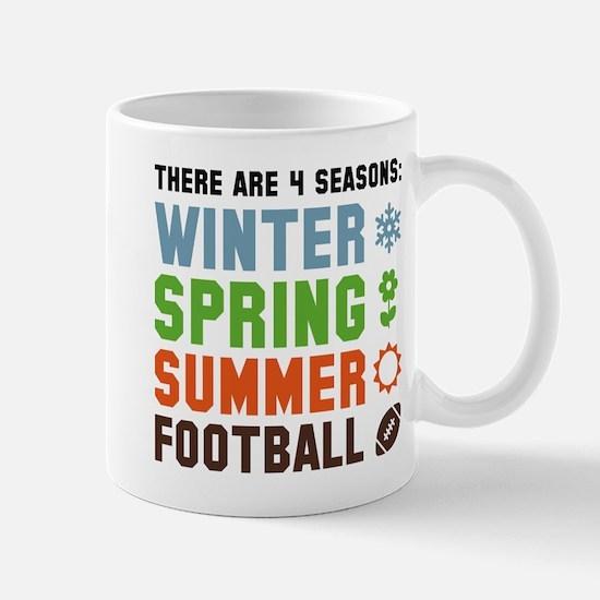 Four Seasons Football Mug