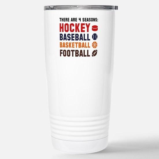 Four Seasons Sports Ceramic Travel Mug