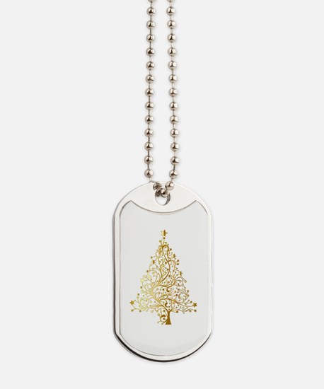 Cute Gold star Dog Tags