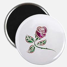 Cute Purple rose Magnet