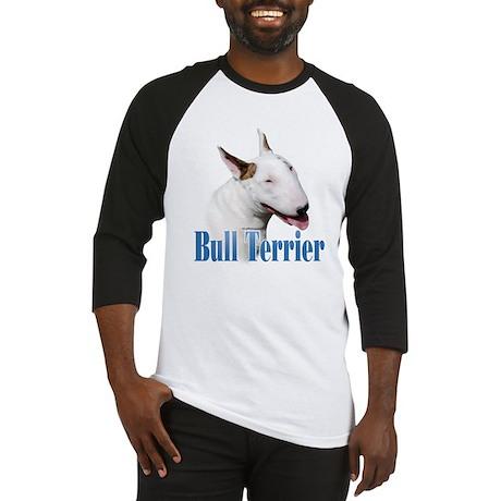 Bull Terrier Name Baseball Jersey