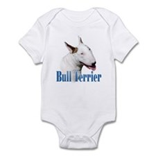 Bull Terrier Name Infant Bodysuit