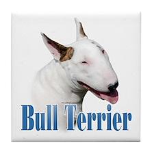 Bull Terrier Name Tile Coaster
