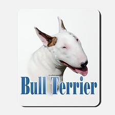 Bull Terrier Name Mousepad