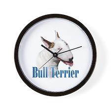 Bull Terrier Name Wall Clock