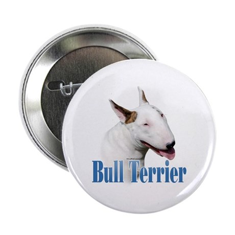 "Bull Terrier Name 2.25"" Button (10 pack)"