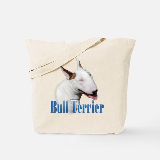 Bull Terrier Name Tote Bag