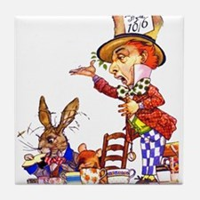 MAD HATTER Tile Coaster