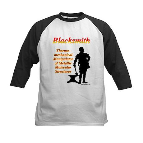 Thermomechanical Manipulator Kids Baseball Jersey