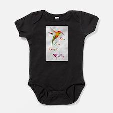 Cute Hummingbird art Baby Bodysuit