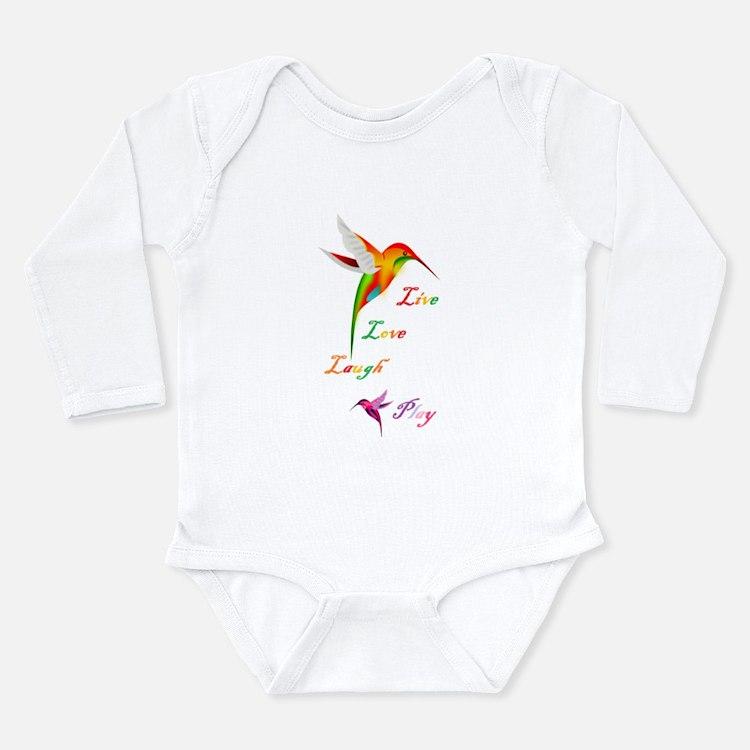 Hummingbird Live Love Laugh P Body Suit
