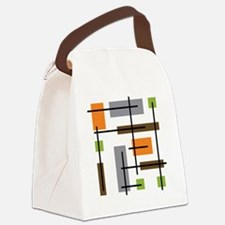 Cute Mid Canvas Lunch Bag