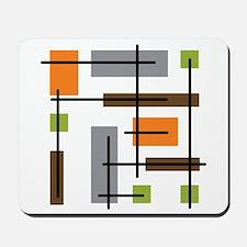 Cubicle Atomic Era Art Mousepad