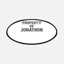 Property of JONATHON Patch