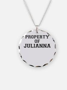 Property of JULIANNA Necklace
