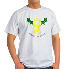 Support Troops Yellow Ribbon T-Shirt