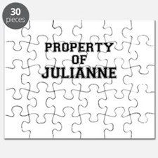 Property of JULIANNE Puzzle
