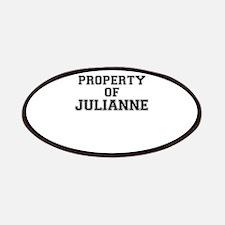 Property of JULIANNE Patch