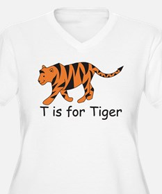 T is for Tiger T-Shirt