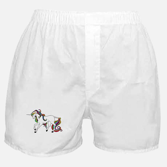 Funny Horse girl Boxer Shorts