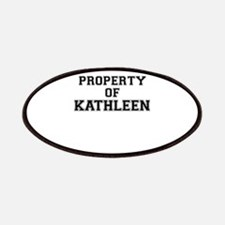 Property of KATHLEEN Patch