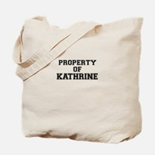 Property of KATHRINE Tote Bag